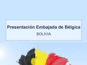 Coop. Belga en Bolivia
